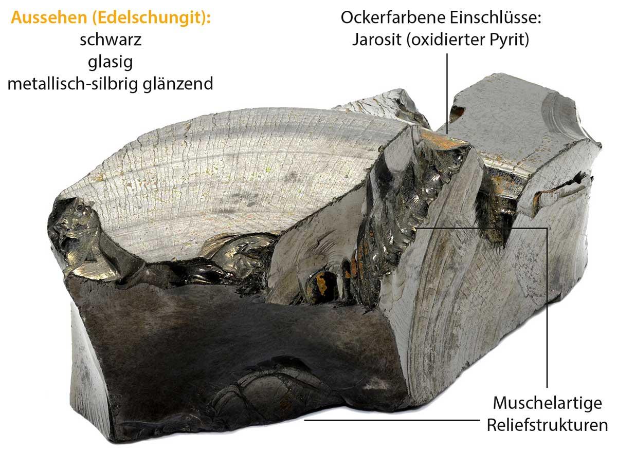 Edelschungit-Stein
