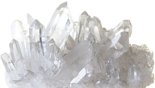 Bergkristall-Druse