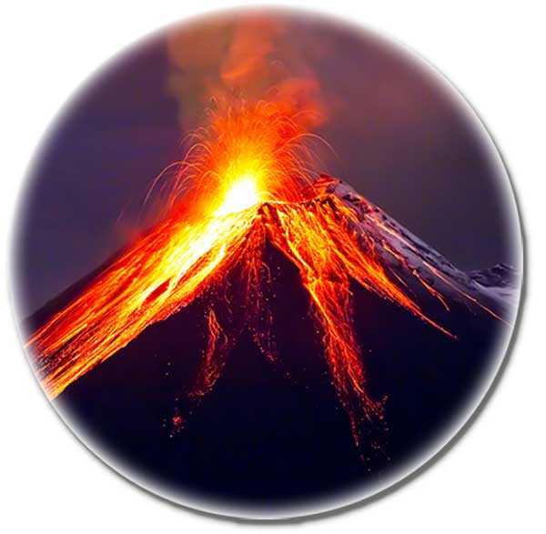 Vulkanausbruch vor 2 Milliarden Jahren