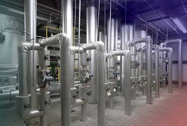 Chlorungsanlage im Wasserwerk