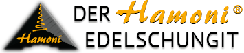 Der Hamoni® Edelschungit Logo